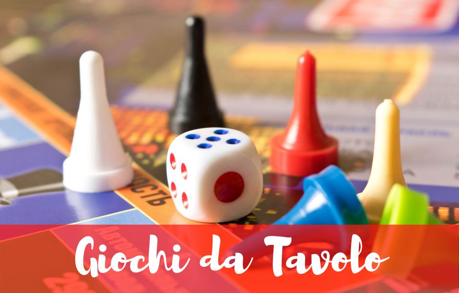 vendita giochi da tavolo online